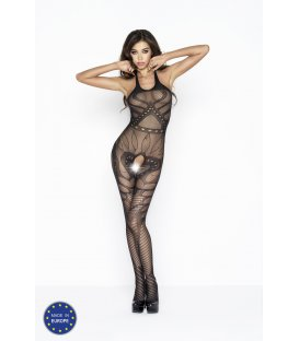 Passion - Bodystocking BS037, Black
