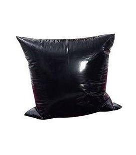 Kuddfodral i vinyl - svart