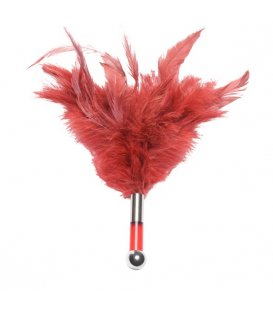 Lelo Tantra Feather Teaser, Red