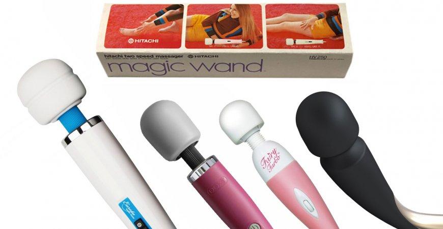 Magic Wand igår och idag - historien bakom vibratorn